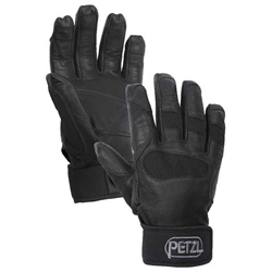 Access Techniques Petzl Cordex Belay Glove - Black -Small, medium, large and Xlarge